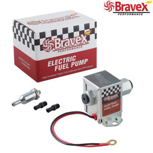Universal Electric Fuel Pump 12v For Ford Inline Ep12s Gas Diesel 4 7 Psi Usa