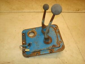 1966 Ford 4000 Tractor 8 Speed Transmission Shifter Levers