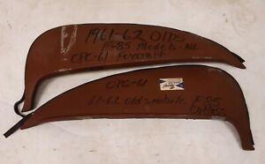 1961 1962 Oldsmobile Fender Skirts F85 Pontiac Tempest Steel Pair Opc 61 Used