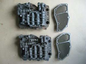 Two Ford C4 Transmission Valve Bodies 1st Top C4ap 7a092 A Bottom C4ap 7a101 B