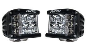 Rigid 262213 In Stock D Ss Pro Side Shooter Led Lights