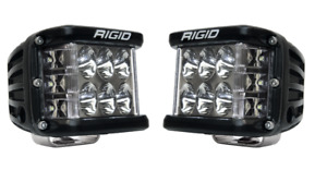 Rigid 262313 In Stock D Ss Pro Side Shooter Led Lights Driving Optics