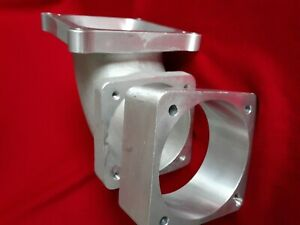 Wilson Manifold Standard Intake Elbow 90 105mm With 50mm 2 Spacer