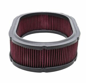 Cotton 12 X3 Universal Oval Washable Air Cleaner Filter Red