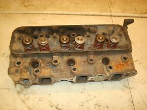 1966 Ford 4000 Tractor Cylinder Head