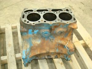 1966 Ford 4000 Tractor Engine Block
