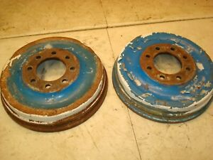 1966 Ford 4000 Tractor Brake Drums
