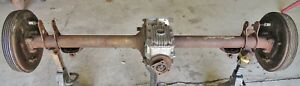 50s Alfa Romeo Giulietta Sprint Spider Rear End Differential W Brakes