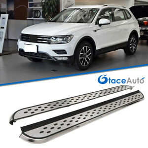 Side Step Nerf Bar Fit For Vw Tiguan Limited 2017 2020 Running Board Us Stock