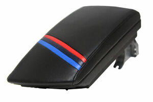 Bmw X3 Center Armrest Console Lid Cover Trim Vinyl M Style Stripes For 03 10