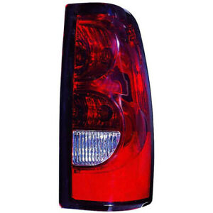 For 2004 2006 Chevy Silverado 1500 Tail Light Passenger Side Dot