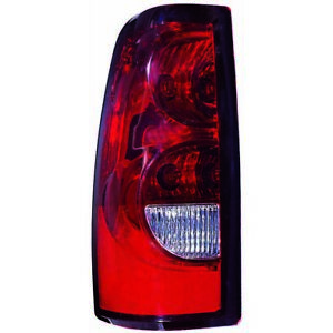 For 2004 2006 Chevy Silverado 1500 Tail Light Driver Side Dot