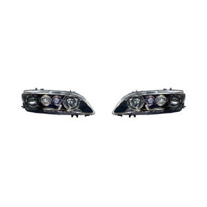 For 2003 2005 Mazda 6 Head Light Assembly Pair Driver And Passenger Side