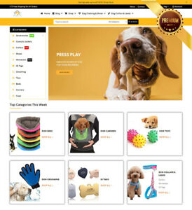 Dropshipping Website For Sale Own A Pet Dog Supply Ecommerce Business