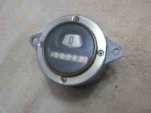 Model A Ford Speedometer Round 1930 1931 North East Rebuilt Original