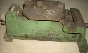 Multiform Bridger Steel Rule Die Notcher Cutter Bender Helmold J A Ja Richards