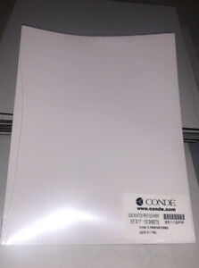 Conde Dye Sublimation Transfer Paper 100 Sheets 8 5x11 Per Pack New