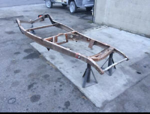 1932 Ford Bobbed And Pinched Original Hot Or Rat Rod 1960 s Coupe Roadster Frame