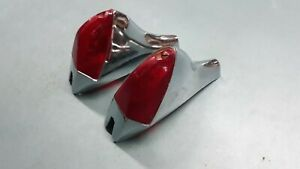 Nos Cadillac Style Accessory Tail Lamps 49 50 51 52 Chevrolet Option Chevy Fin