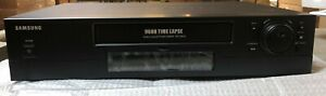 Samsung Srv 960a New Time Lapse Real Time Vcr Vhs Security Recorder 960 Hrs