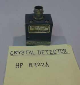 Hp R422a Crystal Detector