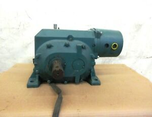 Reliance Electric Worm Gear Speed Reducer 213cg40a 101 1 Ratio 5 2 5 Hp