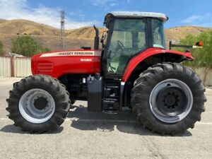 Massey Ferguson 6485 4x4 173 Hp Only 740 Hours Since New Ex California City