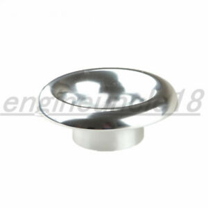 Universal Velocity Stack 3 Ram Air Intake turbo Composite Silver Funnel
