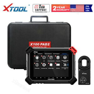 Xtool X100 Pad2 Pro Car Programmer With Kc100 For Vw 4th 5th Immo Auto Scan Tool