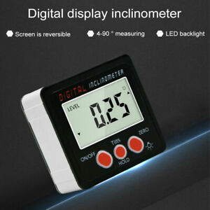 Lcd Digital Protractor Angle Gauge Meter Inclinometer Angle Finder