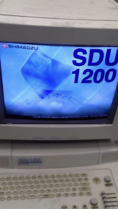 Shimadzu Diagnostic Ultrasound System Sdu 1200 Two Probes Ultrasonido