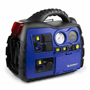 Michelin Ml0728 Power Source Xr1 Portable 1000 Amps Jump Starter With Air Compre