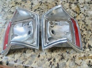 70 72 Chevelle El Camino Tail Lights Station Wagon Tail Lights Bezels Housing
