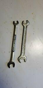 2 Double Open Wrenches Craftsman 7mm 9mm Heyco 8mm 10mm