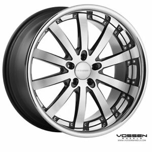 New Vossen Wheels Vvs 83 5x114 3 Black Machine 19x8 5 Et15 19x10 Et 20