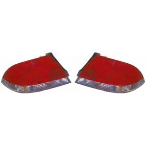Fits 2004 2007 Mitsubishi Lancer Pair Rear Tail Lights Driver And Rh Es ls