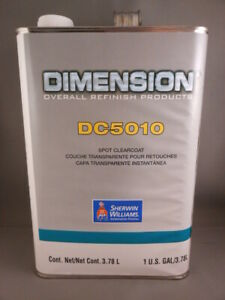 Sherwin Williams Dc5010 Spot Clearcoat Dimension Automotive Paint 1 Gallon