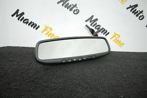 03 08 Nissan 350z Z33 Rear View Mirror With Home Link And Dimmer Oem