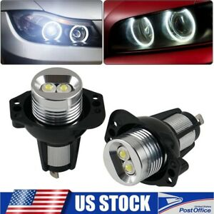 Led Angel Eye Halo Ring Marker Light Bulbs Error Free Fits For Bmw 3 Series 328i