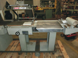 Clamco Model 770 20 L bar Shrink Wrap Sealer And Clamco Model 851 Heat Tunnel
