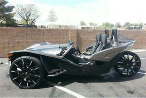 3 Polaris Slingshot 24 Lexani Wheels Css 15 Black W Mt Rims And Tires Pkg