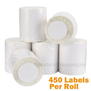 2 20 Rolls 4 x6 450 roll Direct Thermal Shipping Labels Zebra Eltron 2844 Zp450