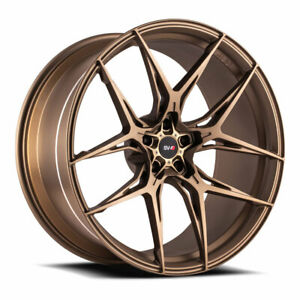 21 Savini Sv F5 Bronze 21x9 21x10 5 Forged Concave Wheels Rims Fits Jaguar Xkr
