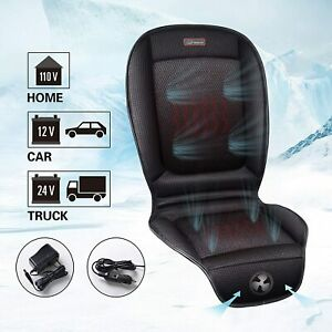Heated Air Conditioned Car Truck Chair Seat Pad Universal Ventilated Cushion