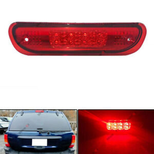 For 99 04 Jeep Grand Cherokee Wj Led Third 3rd Tail Brake Light Stop Lamp Red