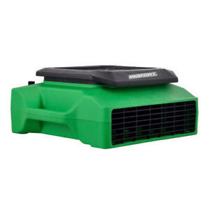 Green 1 3 Hp 1050 Cfm Built In Power Outlet 3 Speed Low Profile Light Air Mover