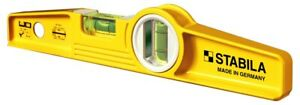 Stabila 25100 Type 81sm 10 Die Cast Torpedo Level With Magnets new