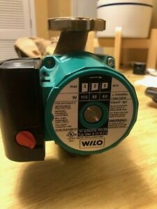 Wilo Star 4090765 S21bfx 3 speed Bronze Star Series Circulator Pump 1 12 Hp