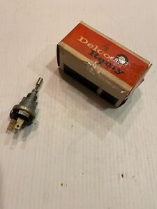 Nos Gm 1964 1965 Delco Remy Wiper Switch Chevy Gmc Truck Single Speed 1993640