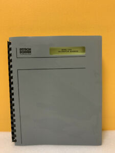 Systron Donner 120007 01 1702 Signal Generator Operating And Service Manual